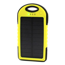 Solar Charger 5V Power Bank And Solar Charger Waterproof Shockproof Dustproof for Samsung Mobile 5000mAh Solar Charger