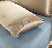 low price 100% natural mulberry silk pillowcase housewife