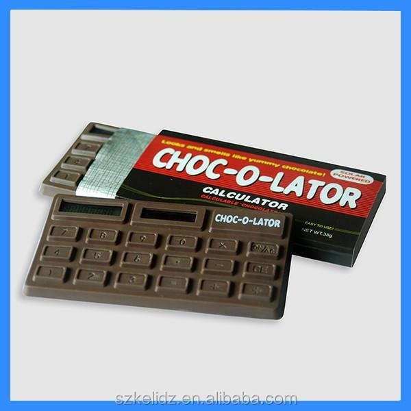 8 digit Chocolate smell Solar Calculator