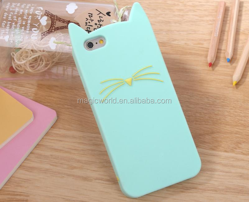 Lovely 3D Soft Silicone Gel Case For Apple iPhone 6