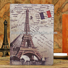 FL2698 2013 Guangzhou hot selling Retro Series Old Classic Smart PU Leather Case Cover for ipad air