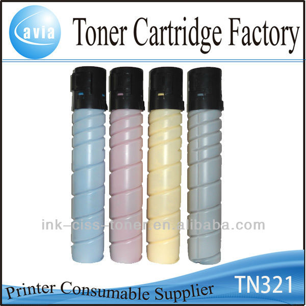large format color laser printer tn321 Toner Cartridge for konica minolta c284