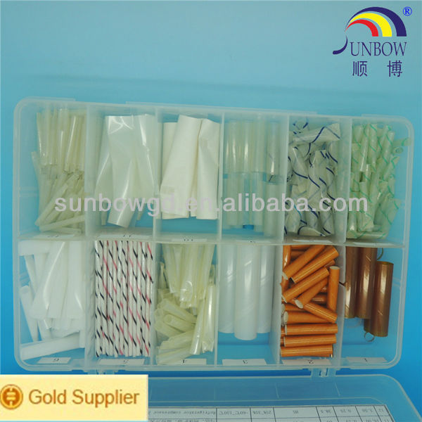 200C High Temperature Resistant Oil Resistant Spiral Wound Heat Shrinkable Polyester Plastic Tubing For Hermetic Motors