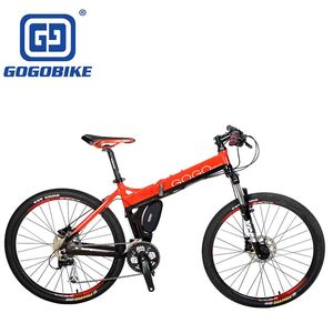 High quality 26 inch aluminum 6061 alloy 24 speed Land rover MTB folding mountain bikes for sale