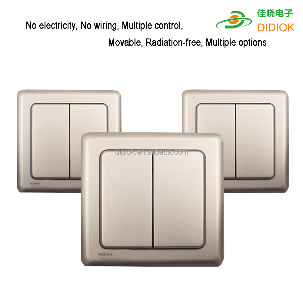 new design celling fan control led light switch wifi smart switch for home automation