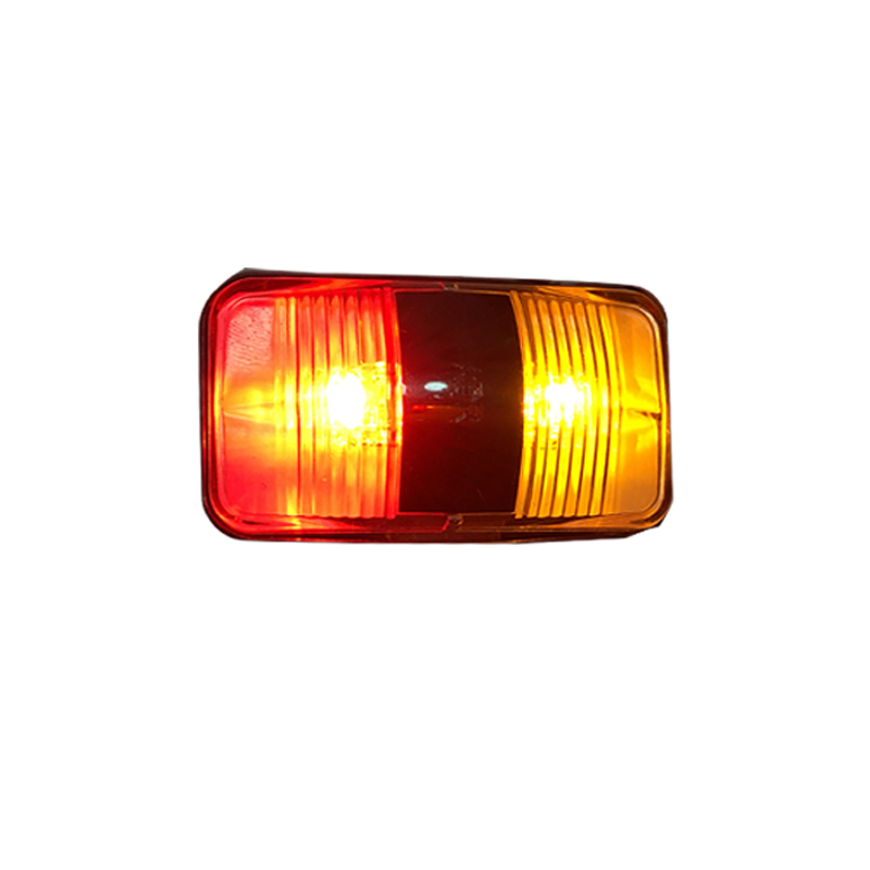 <strong>10</strong>-30V ADR waterproof 2.5inch bus light, amber &amp; red led side marker <strong>bulbs</strong>