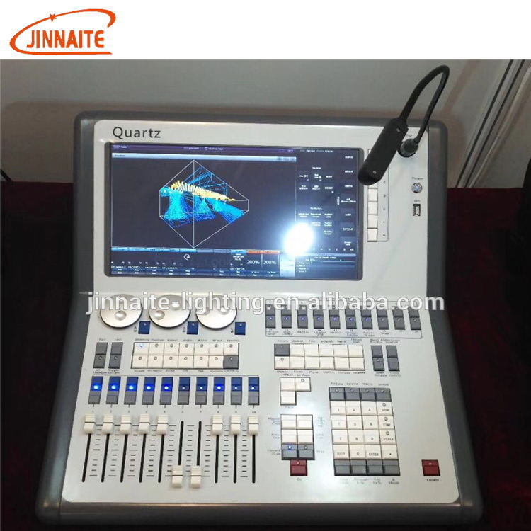 "Factory manufactur Quartz touch 4 DMX Output 12.1"" angled touch Lights Console"