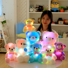 Hot sale glow in the dark plush toy
