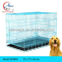 folding metal kennel for large dog