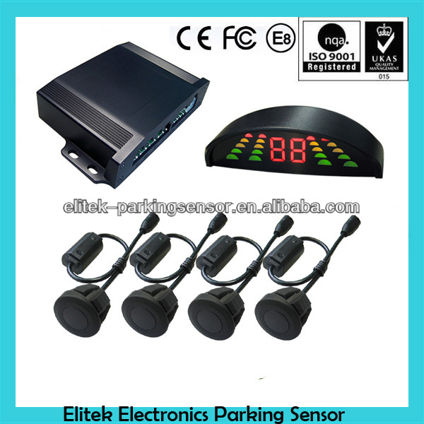Auto 4 Parking Sensors Car Parking Reverse Backup Radar Kit Sound Alert