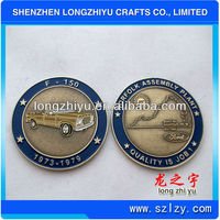 2013 New custom coins replica coin with car design and good quality
