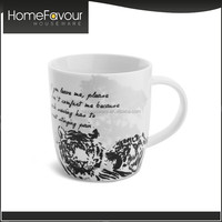 Trade Assurance Manufacturer High Quality Home Printed Enamel Mugs