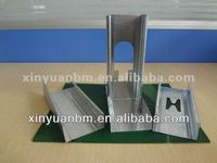 metal steel channel profiles with H hole
