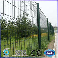 High quality Powder coating metal fence panels /posts