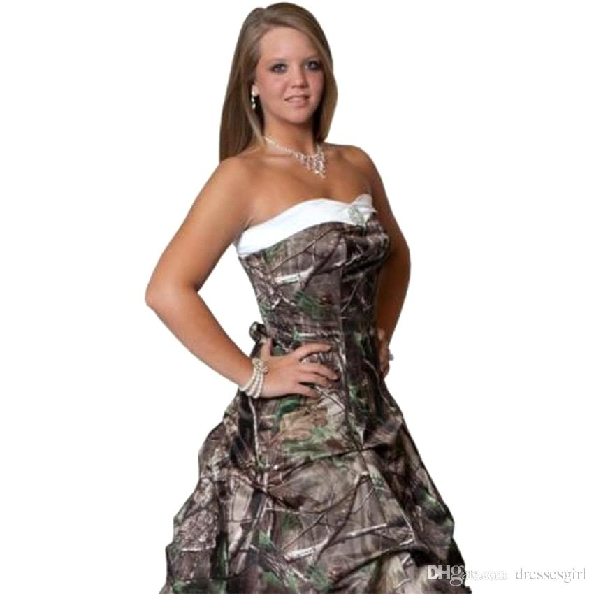 Cheap Camo Wedding Dresses For Plus Sizes Find Camo Wedding Dresses