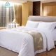 Green Mountain 4 pcs Hotel 350T 100% Cotton Bedding set Satten fabric for bed linen