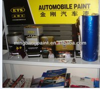 1 liter automobile paint(primer,color,clear coat,thinner,hardener,putty)