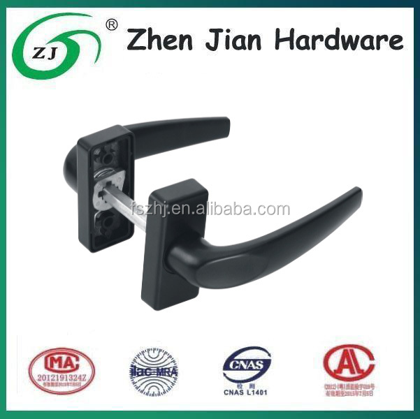 Lock spring handle aluminium door and window handle