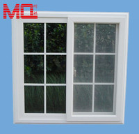 upvc pvc grille design house sliding screen window mosquito net