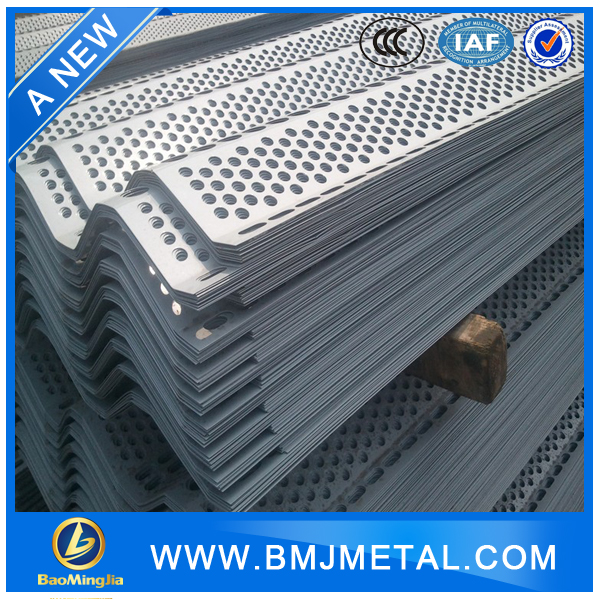 Powder Coated Perforated Windproof Metal Sheet Fence
