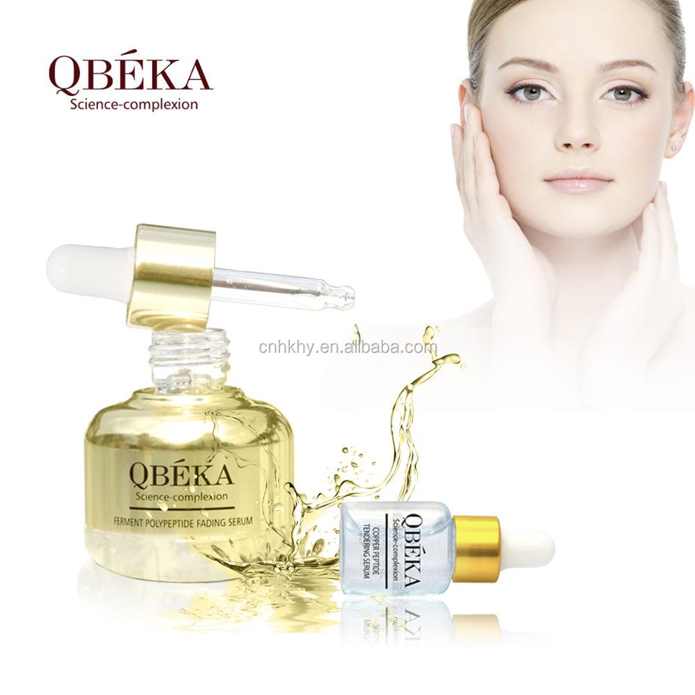 Private label QBEKA High Efficacy Whitening Ferment Polypeptide Fading Serum