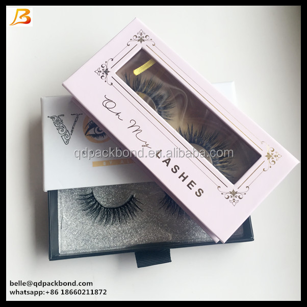 Private Label Custom False Eyelash Packaging Box with Magnet