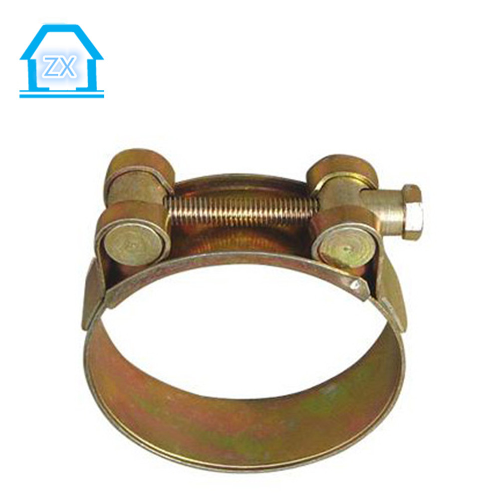 Galvanized hose clamp/pipe clamps/all kinds types Hose Clamp Manufacturer