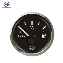 Marine Boat Caravan Car 52mm DC Tank Level Gauge Fuel <strong>Meter</strong>