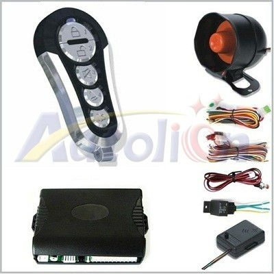 Talking One way car alarm system With Human Voice Remind AL-8422