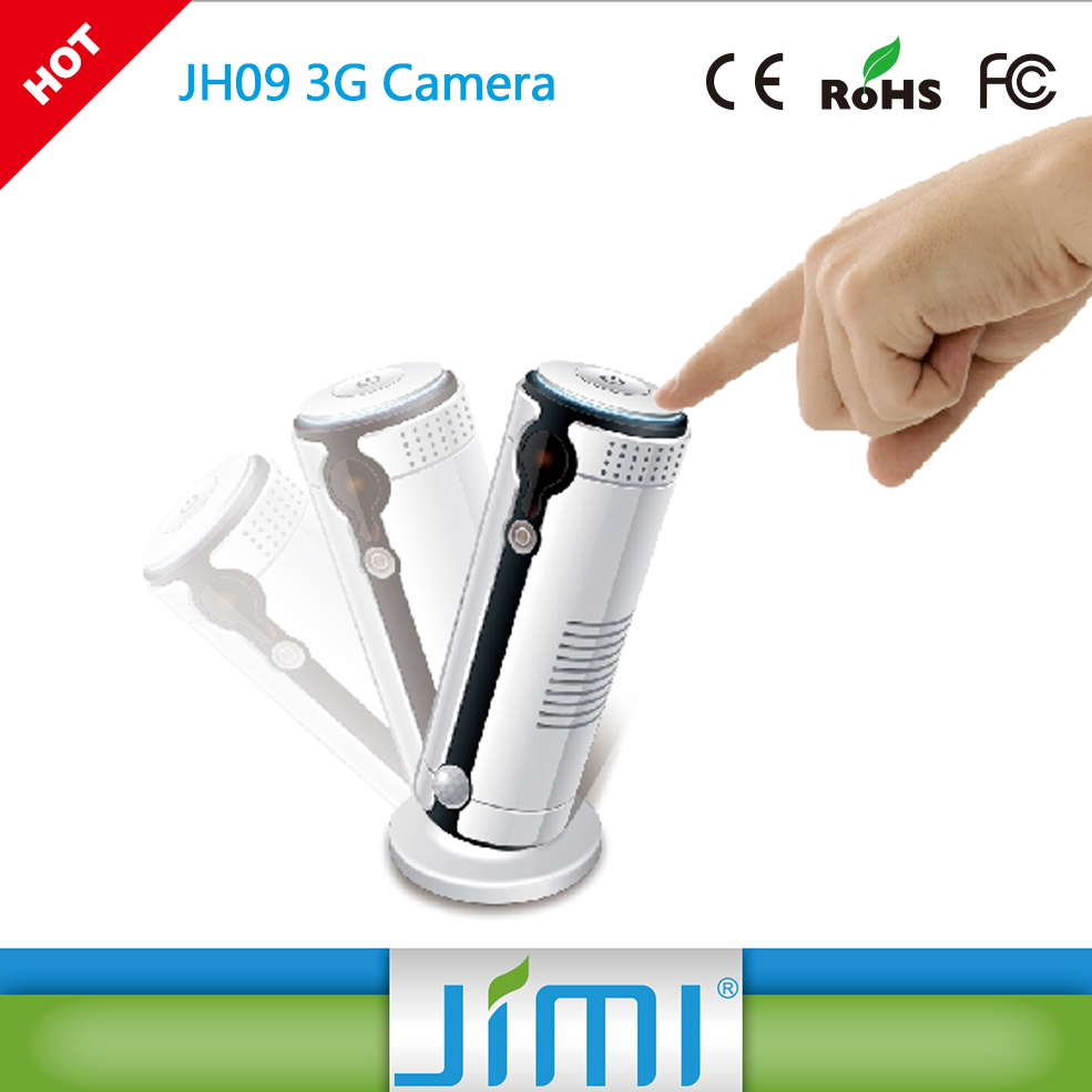 JIMI JH09 720P Live Video Home & Office Wireless Monitor with 3G & WIFI Connection, Night Vision