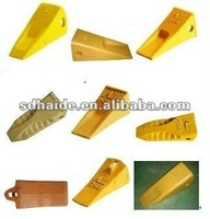 kobelco excavator bucket teeth and bucket adapter