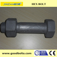 DIN933/931 M45 hexagon bolts of Gr.10.9