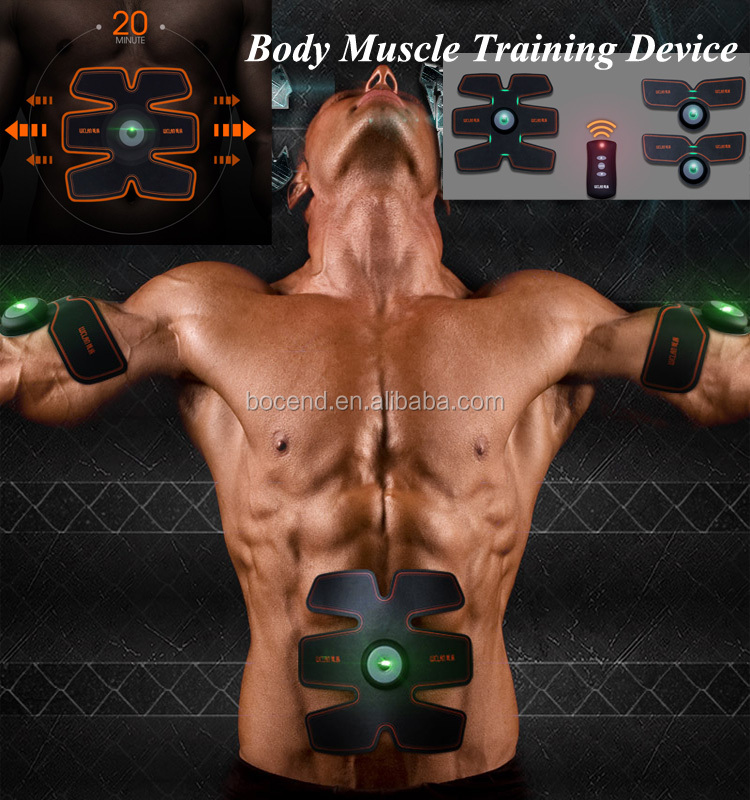 Electronic Body Muscle Training Device Building Body Beauty ems fitness machines