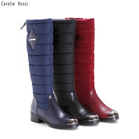 latest ladies knee snow boots shoes sexy women thigh high boots