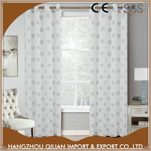 Printed flower curtains window coverings for french doors