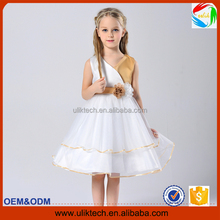 <strong>girls</strong> white muslin princess <strong>dress</strong> with belt flower party <strong>dress</strong> cute kids <strong>dress</strong> for party baby clothes for party