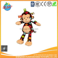 custom plush animals monkey stuffed toy