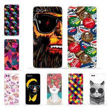 Case for Huawei Honor V10 9 V9 Play 6C Pro 8 Pro Soft Silicon Cute Patterned Fitted Cover for Huawei Nova 2s Nova 2 Plus Funda