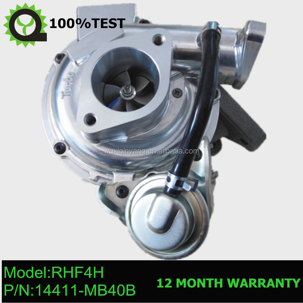 RHF4H Turbocharger 14411-VM01A , 14411-MB40C , VB420119