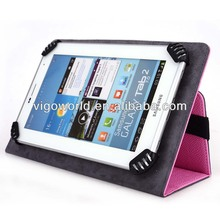 Baby Pink Universal Book Style Cover Case with Built-in Stand [Accord Series] for Samsung Galaxy Note 8.0 N5100 Tablet