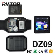 Large Stock Watch phone hot dz09 sim card smart watch phone for iphone