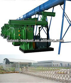 Professional Working Series Wood Pellet Mill Industry Use MZLH600-Peter (2013)