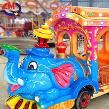 amusement ride on train indoor electric track train