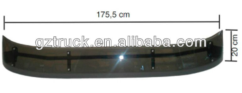 Best quality Iveco Daily truck body parts, Guangzhou auto parts, Iveco Daily SUN VISOR 2994472/2997108
