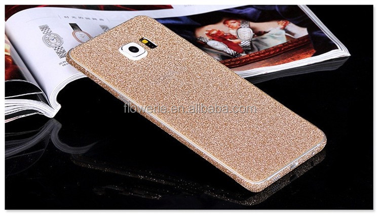 FL3659 Full Body Glitter Bling Sticker Protector Luxury Cell Phone Cases Cover Skin for Samsung Galaxy S3 S4 S5 S6 S6 Edge