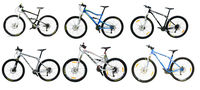GT Mountainbikes different Modells