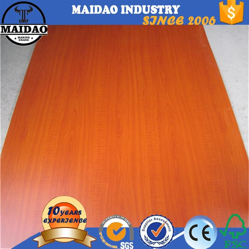 18mm color mdf plywood finger joint laminated board