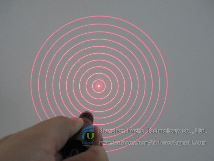 FU65010YH100-GD16 Diffractive optical elements(DOE) 10 rings circle rounded circular circularity Concentric rings <strong>laser</strong>,Concentr