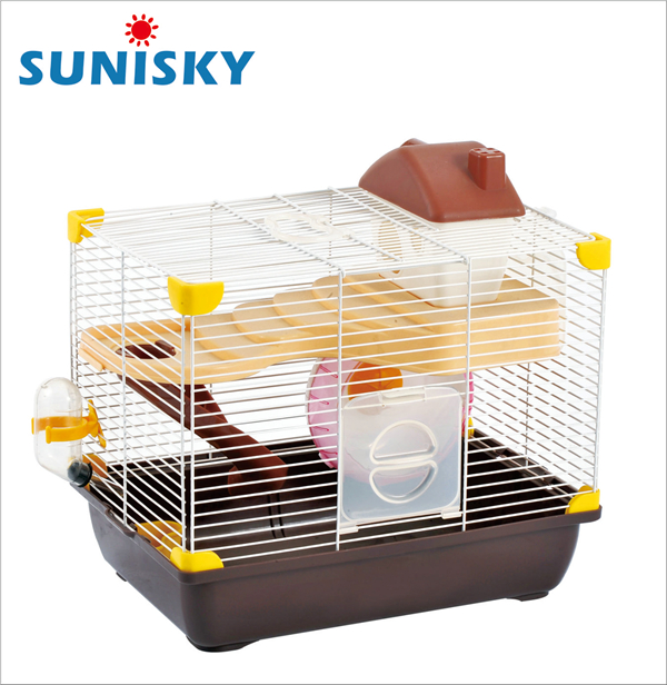 Chocolate Factory Dark Brown Hamster Cage