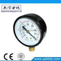 compound positive pressure gauge